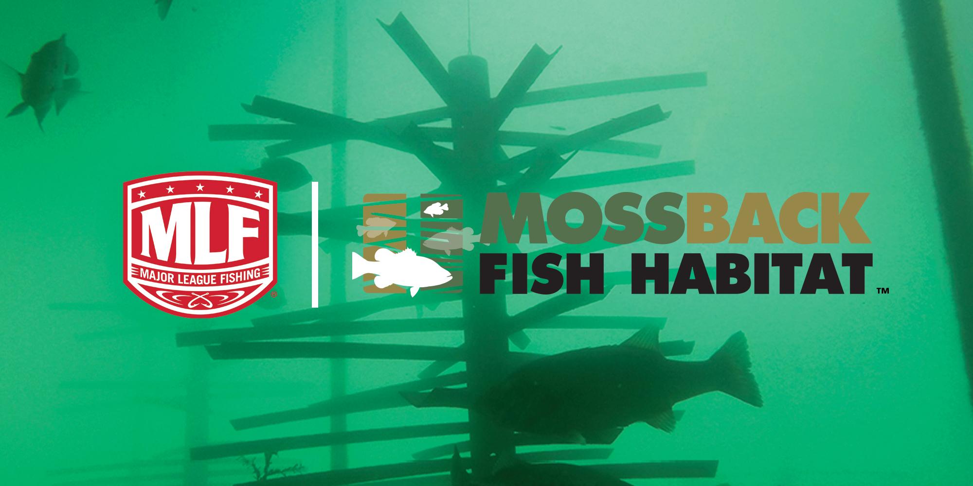 Mossback Fish Habitat and Major League Fishing Logos